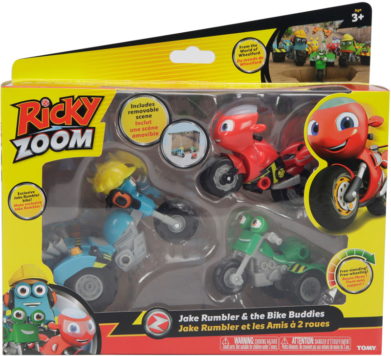 Wholesalers of Ricky Zoom Jake Rumbler And The Bike Buddies toys