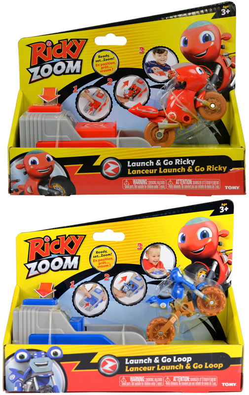 Wholesalers of Ricky Zoom Launch & Go Asst toys