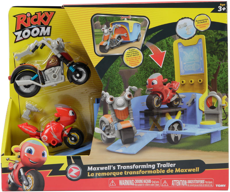 Wholesalers of Ricky Zoom Maxwells Transforming Trailer Playset toys