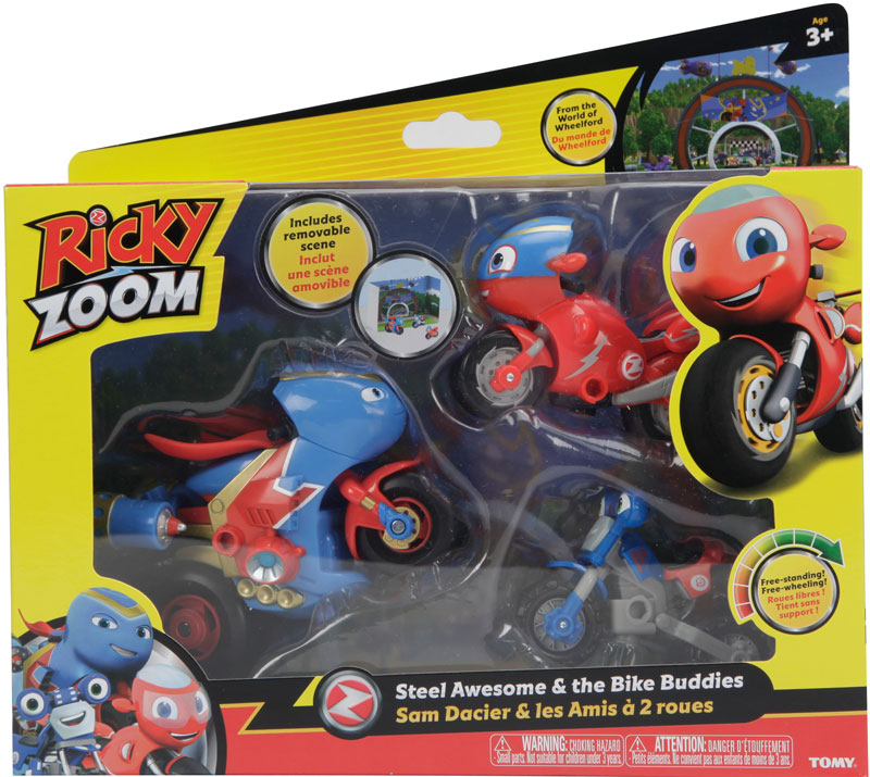 Wholesalers of Ricky Zoom Steel Awesome And The Bike Buddies toys