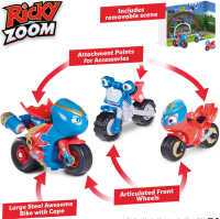 Wholesalers of Ricky Zoom Steel Awesome And The Bike Buddies toys image 2