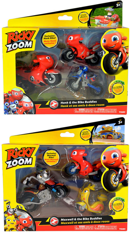 Wholesalers of Ricky Zoom The Bike Buddies Adventure Pack Asst toys