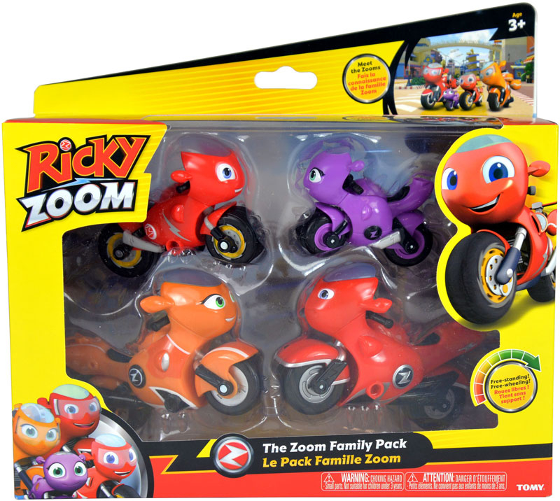 Wholesalers of Ricky Zoom The Zoom Family Pack toys