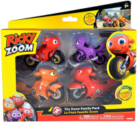 Wholesalers of Ricky Zoom The Zoom Family Pack toys image