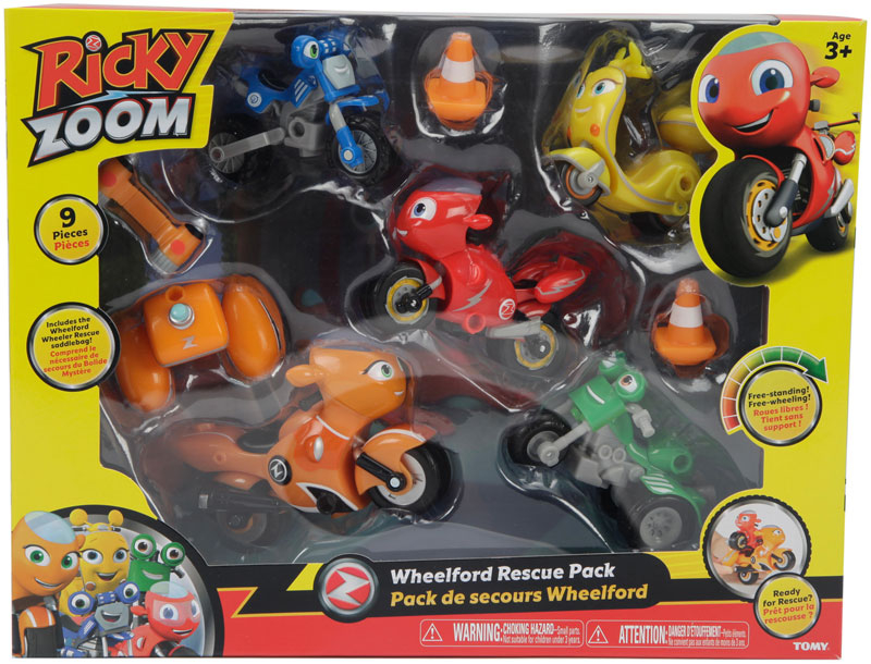 Wholesalers of Ricky Zoom Wheelford Rescue Multi Pack toys