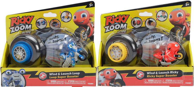 Wholesalers of Ricky Zoom Wind And Launch Asst toys