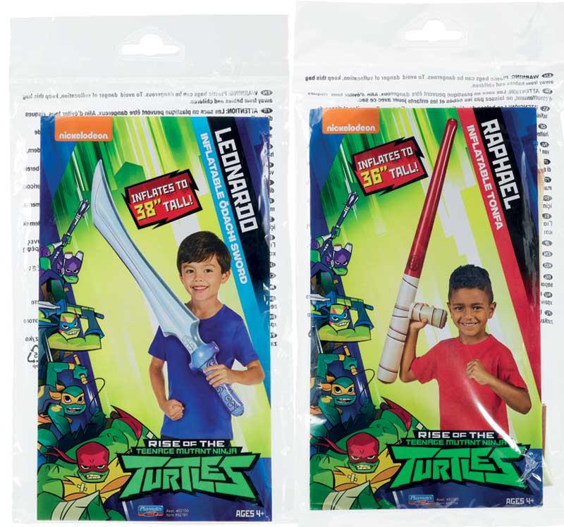 Wholesalers of Rise Of The Teenage Mutant Ninja Turtles Grab N Go - Inflata toys