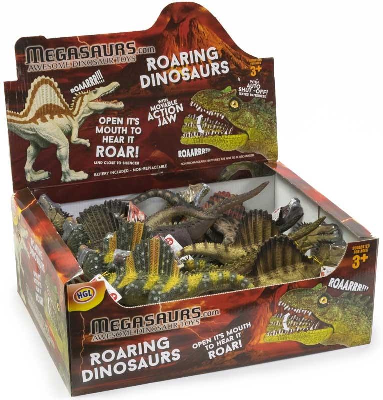 Wholesalers of Roaring Dinosaurs toys