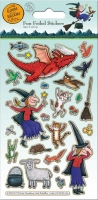 Wholesalers of Room On The Broom Foil  Stickers toys image