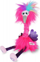 Wholesalers of Sassimals Flossi The Flamingo Soft Toy toys image