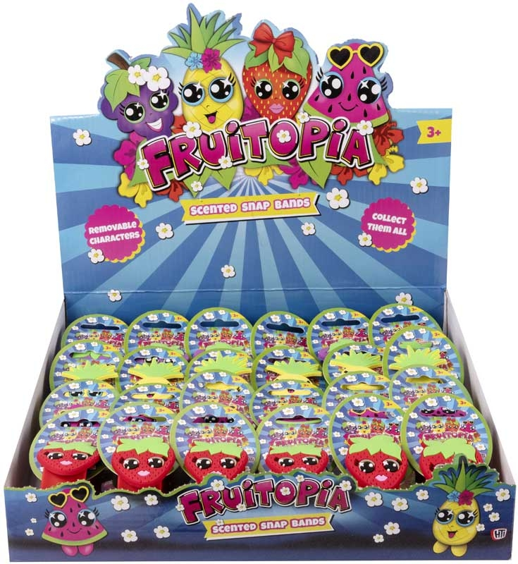 Wholesalers of Scented Snap Bands 4astd toys