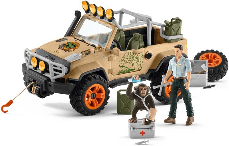 Wholesalers of Schleich 4x4 Vehicle With Winch toys