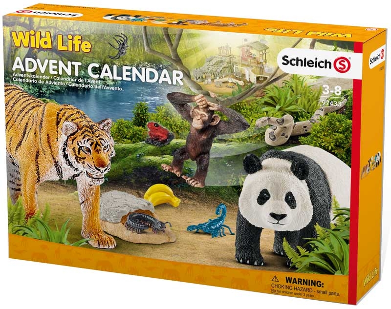Wholesalers of Schleich Advent Calendar Wild Life toys