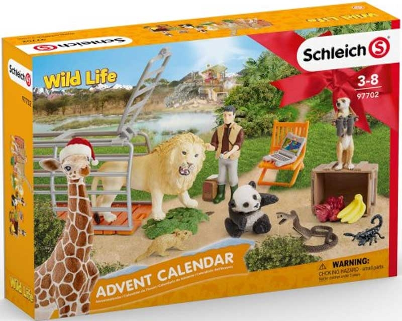 Wholesalers of Schleich Advent Calendar Wild Life 2021 toys