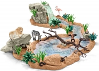 Wholesalers of Schleich Big Adventure At The Waterhole toys image