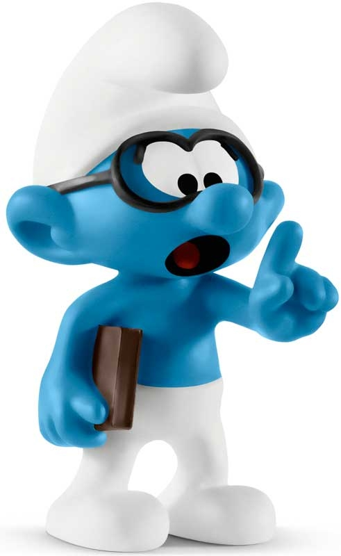 Wholesalers of Schleich Brainy Smurf toys