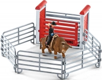 Wholesalers of Schleich Bull Riding With Cowboy toys image