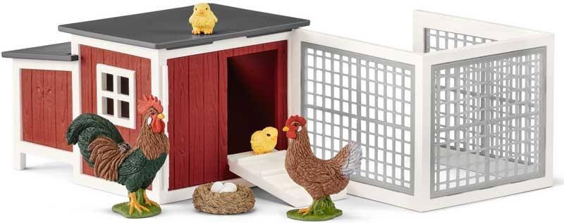 Wholesalers of Schleich Chicken Coop toys