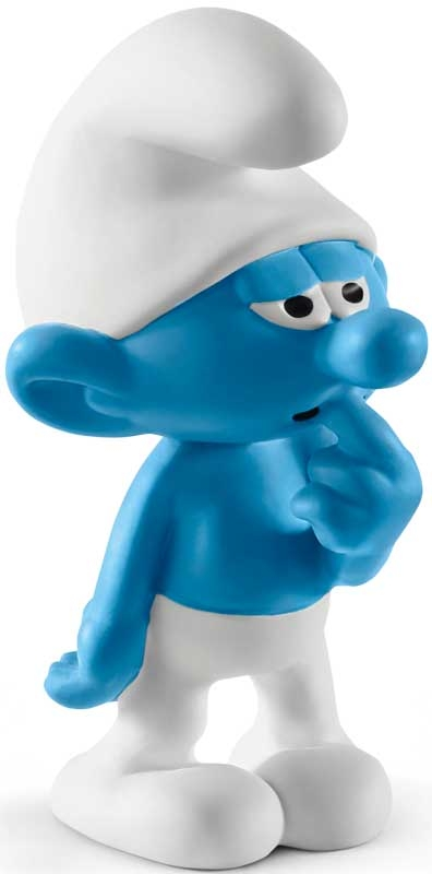 Wholesalers of Schleich Clumsy Smurf toys