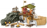 Wholesalers of Schleich Croco Jungle Research Station toys image