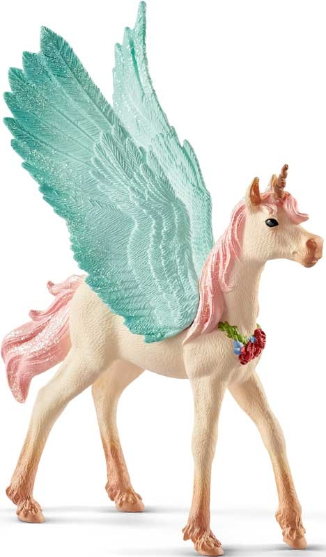 Wholesalers of Schleich Decorated Unicorn Pegasus Foal toys