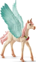 Wholesalers of Schleich Decorated Unicorn Pegasus Foal toys image