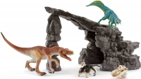 Wholesalers of Schleich Dino Set With Cave toys image