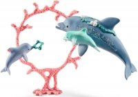 Wholesalers of Schleich Dolphin Mum With Babies toys image