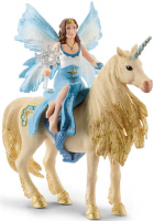 Wholesalers of Schleich Eyela Riding On Golden Unicorn toys image