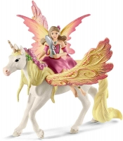 Wholesalers of Schleich Fairy Feya With Pegasus Unicorn toys image