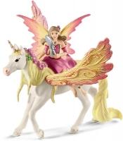 Wholesalers of Schleich Fairy Feya With Pegasus Unicorn toys image