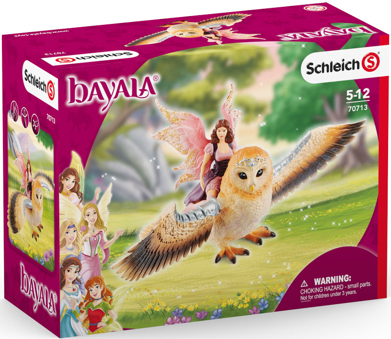 Wholesalers of Schleich Fairy In Flight On Glam-owl toys
