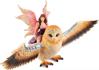 Wholesalers of Schleich Fairy In Flight On Glam-owl toys image 2