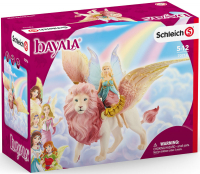 Wholesalers of Schleich Fairy In Flight On Winged Lion toys image