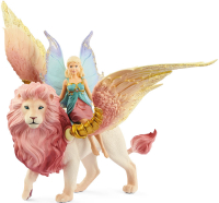 Wholesalers of Schleich Fairy In Flight On Winged Lion toys image 2
