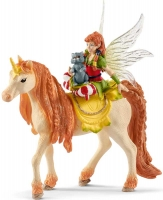 Wholesalers of Schleich Fairy Marween With Glitter Unicorn toys image