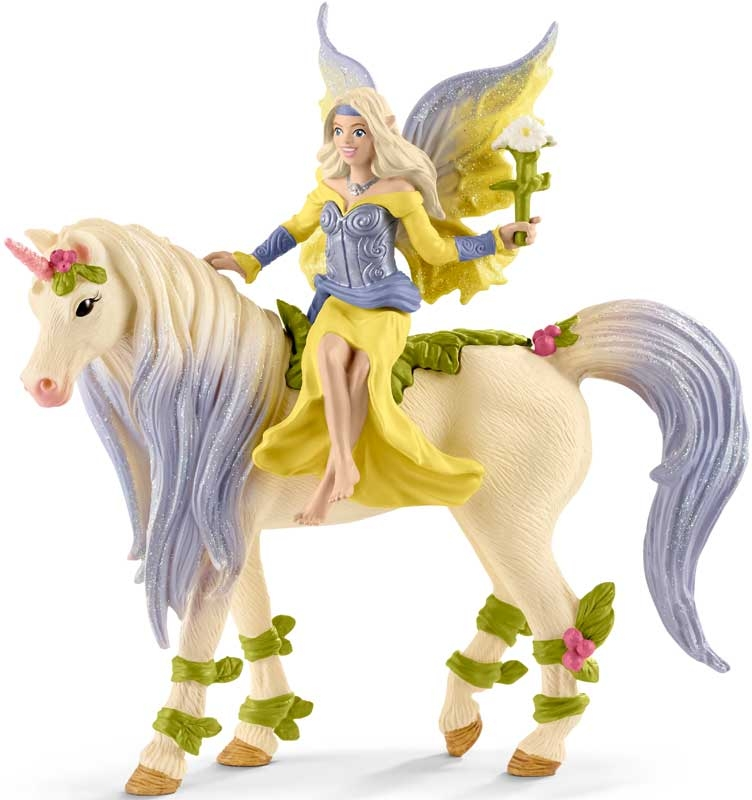 Wholesalers of Schleich Fairy Sera With Blossom Unicorn toys