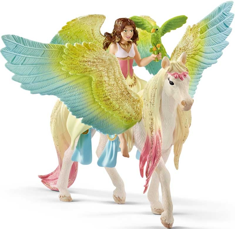 Wholesalers of Schleich Fairy Surah With Glitter Pegasus toys