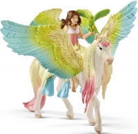 Wholesalers of Schleich Fairy Surah With Glitter Pegasus toys image
