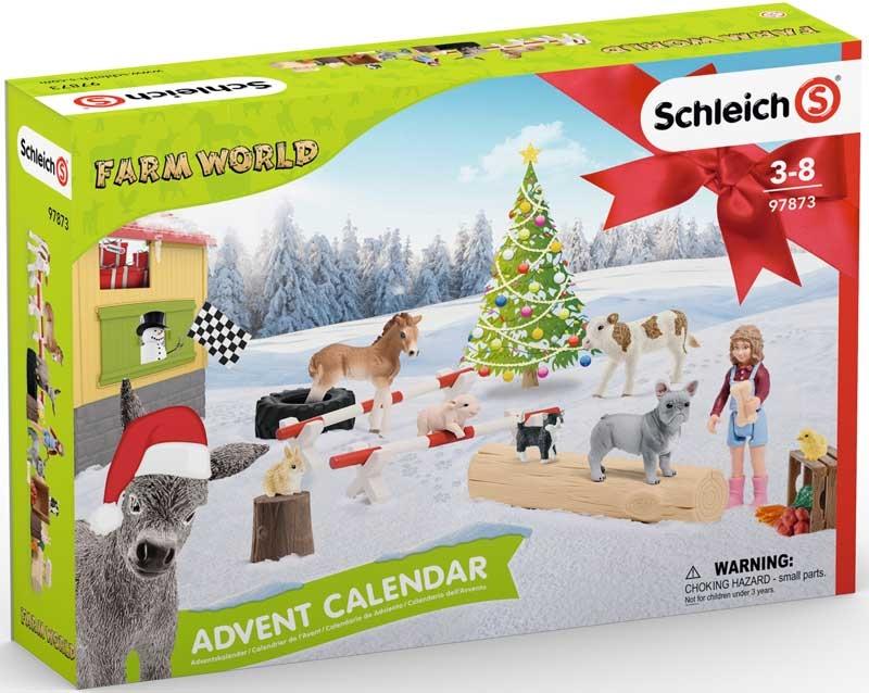 Wholesalers of Schleich Farm World Advent Calendar toys