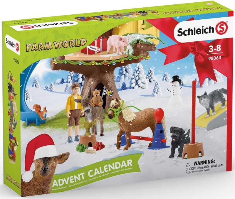 Wholesalers of Schleich Farm World Advent Calendar 2021 toys