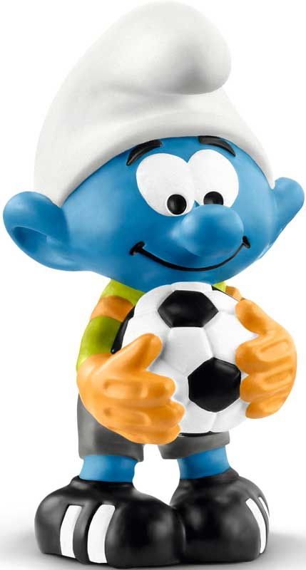 Wholesalers of Schleich Football Smurf Goalkeeper toys