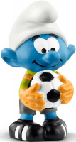 Wholesalers of Schleich Football Smurf Goalkeeper toys image