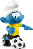 Wholesalers of Schleich Football Smurf With Ball toys image