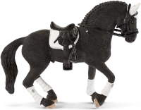 Wholesalers of Schleich Frisian Stallion Riding Tournament toys image