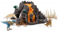 Wholesalers of Schleich Giant Volcano With T-rex toys Tmb