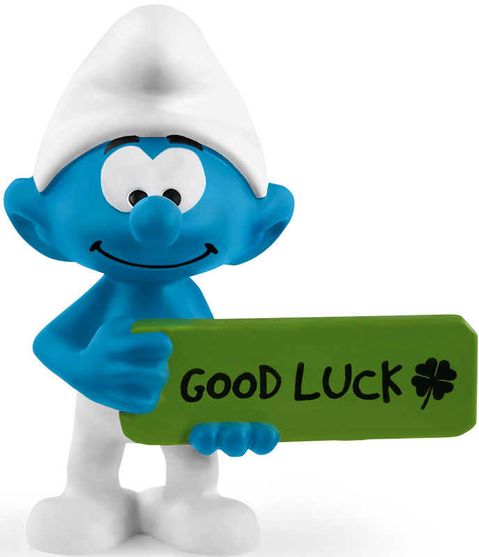 Wholesalers of Schleich Good Luck Smurf toys