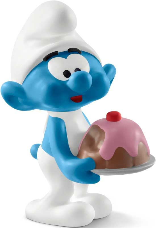 Wholesalers of Schleich Greedy Smurf toys