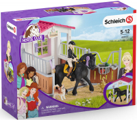 Wholesalers of Schleich Horse Box With Horse Club Tori And Princess toys image