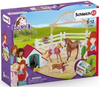 Wholesalers of Schleich Horse Club Hannahs Guest Horses With Ruby The Dog toys image 2